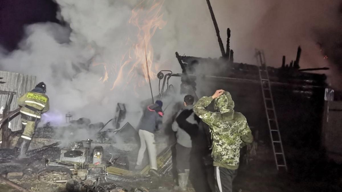 пожар в доме престарелых башкирии