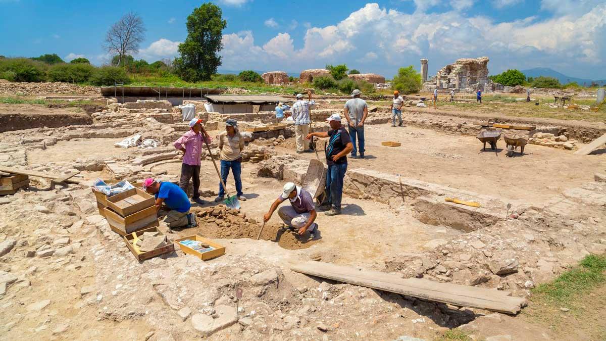 раскопки Измир