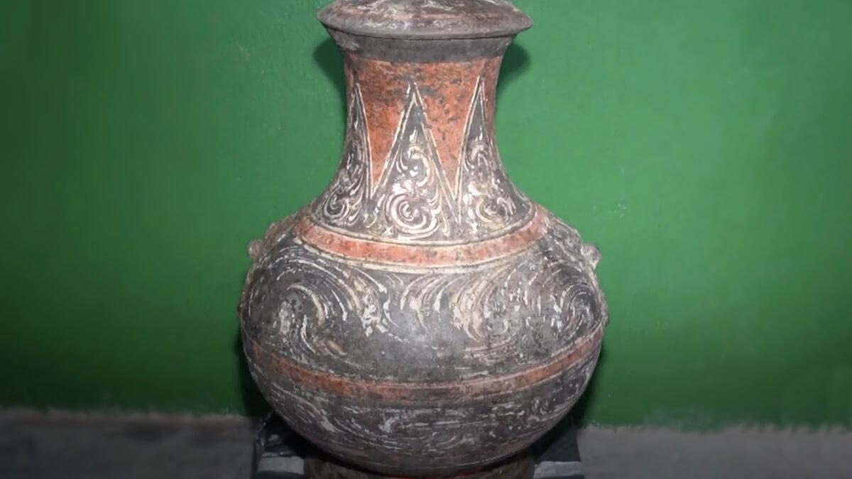 2000-летняя китайская керамика времен династии Западная Хань