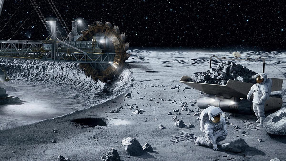 разработка ресурсов на Луне