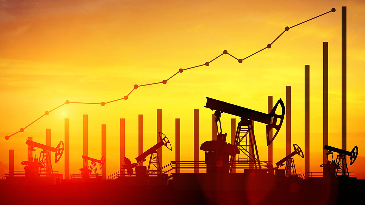 рост цен на нефть график