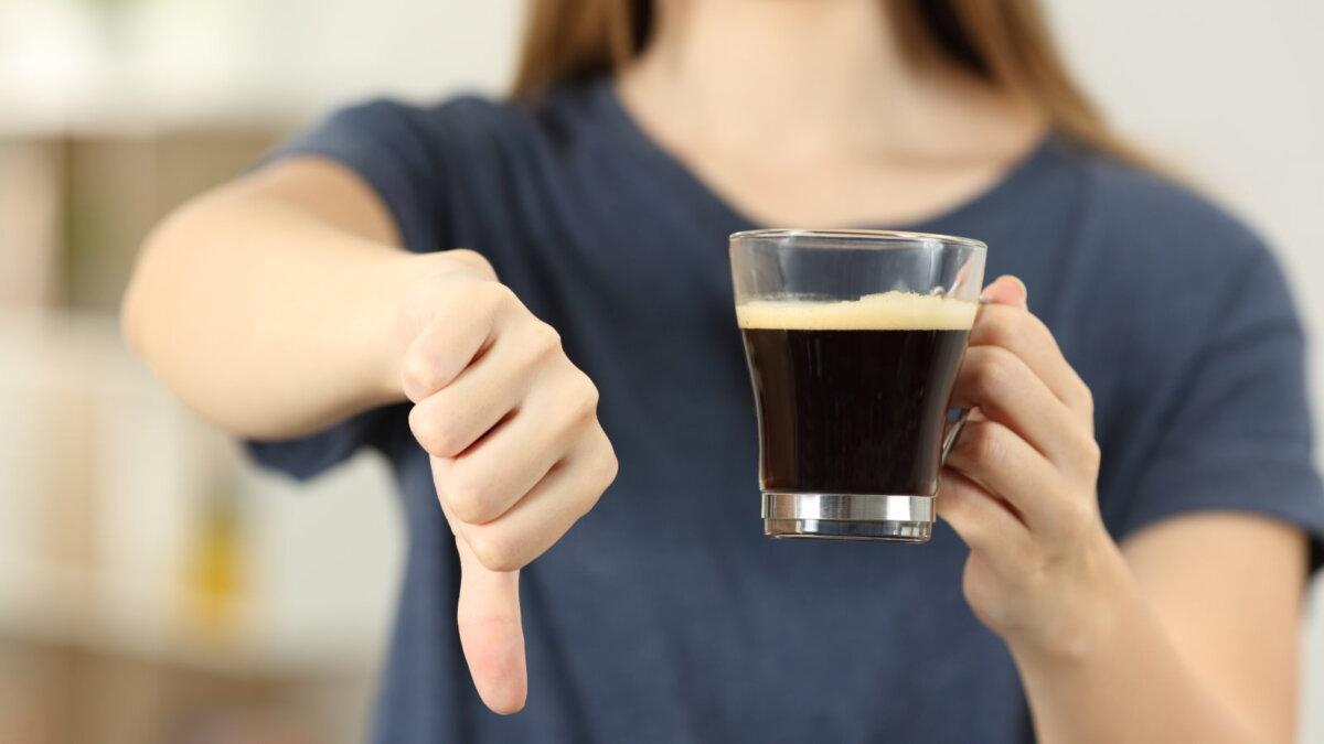 Отказ от кофе один