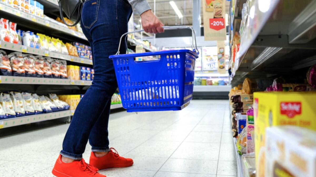 Потребительская корзина прожиточный минимум магазин супермаркет покупки один