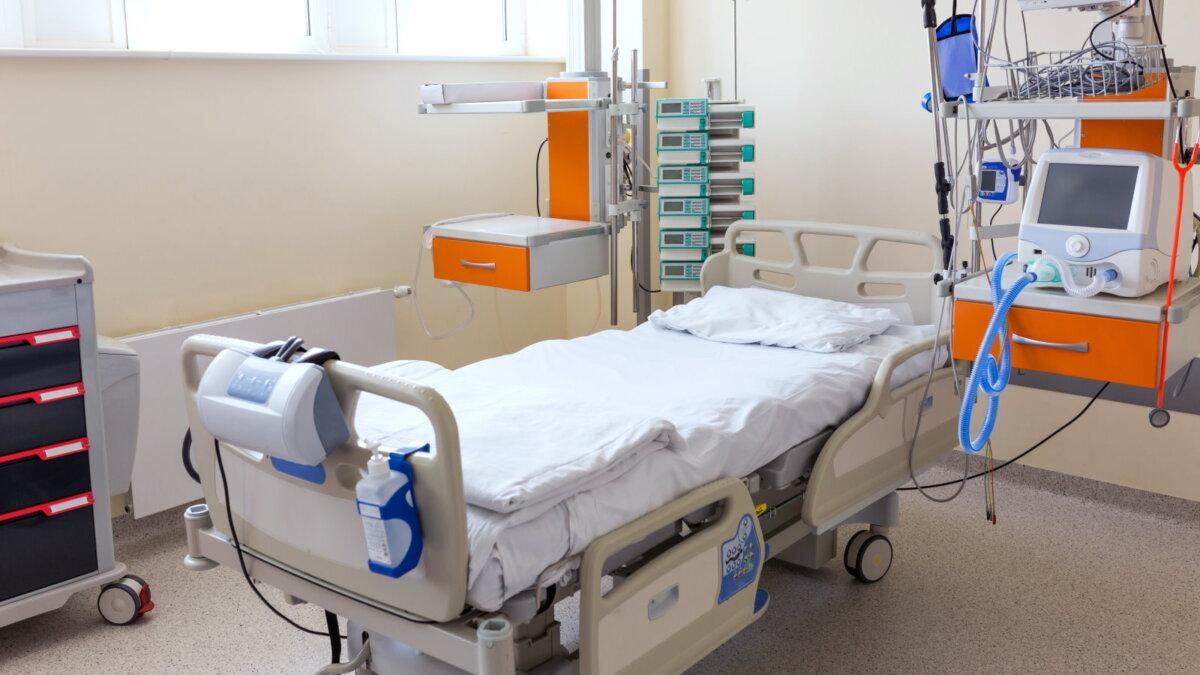 Коронавирус Больница койки медицинское оборудование аппараты ИВЛ четыре