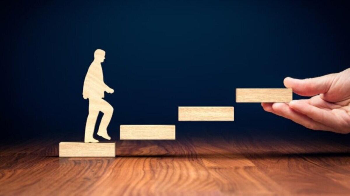личный успех карьера лестница