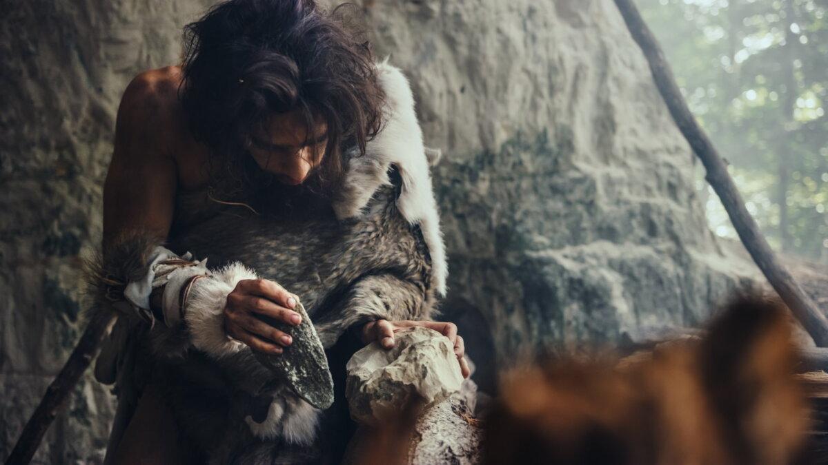 Первобытный человек каменный век орудие труда