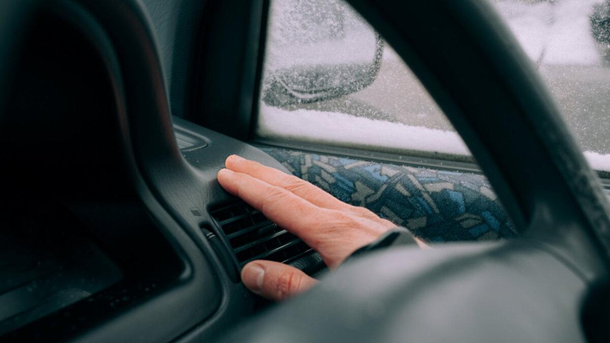 Кондиционер печка в автомобиле зимой