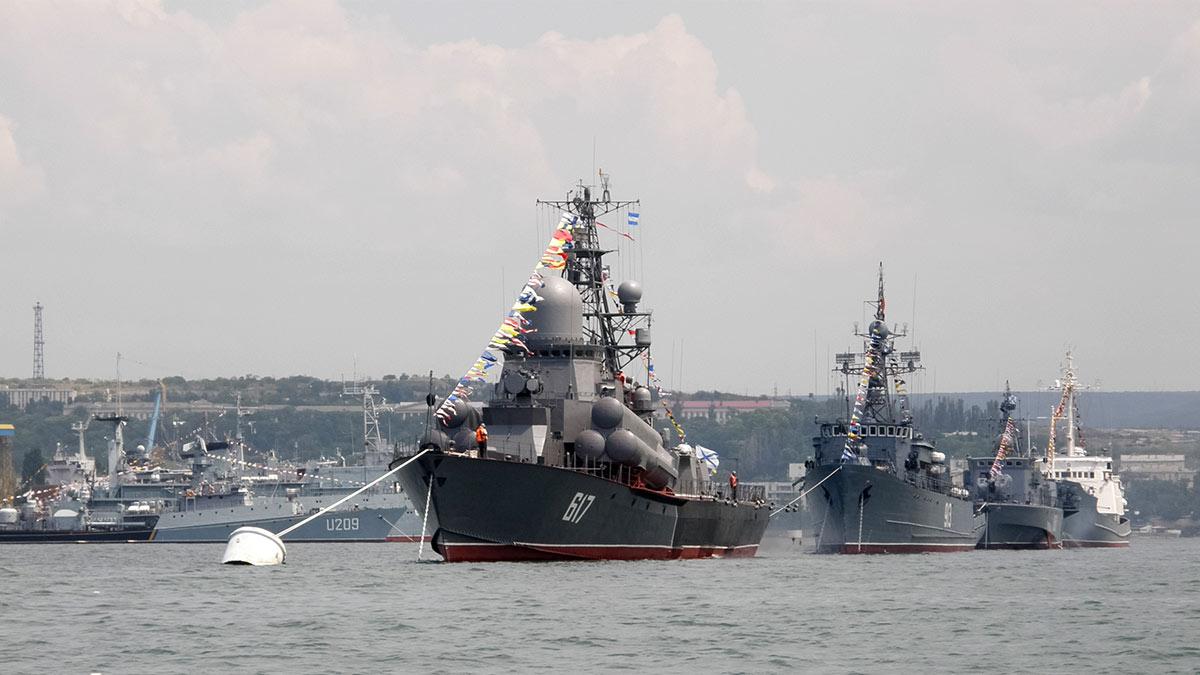 флот корабли вмф России в крыму