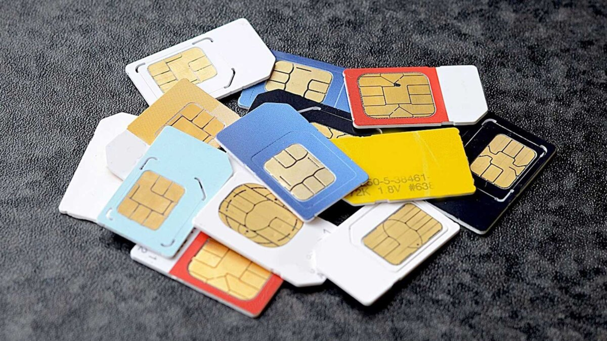 симкарты sim card