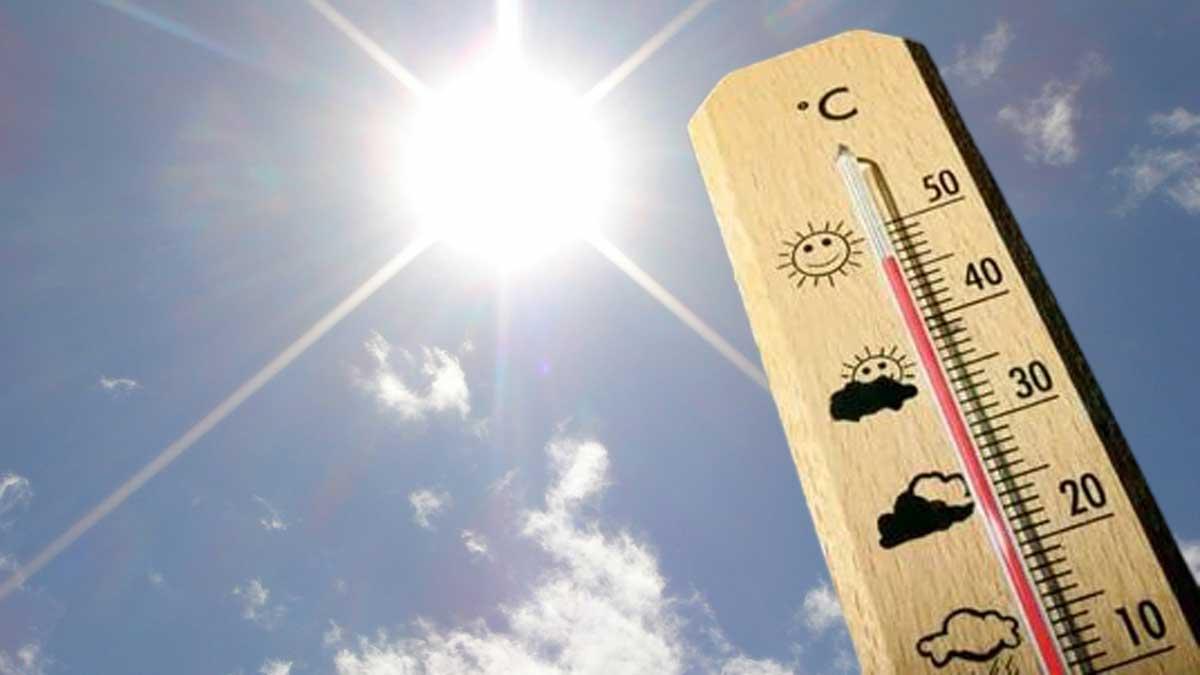 солнце жара термометр