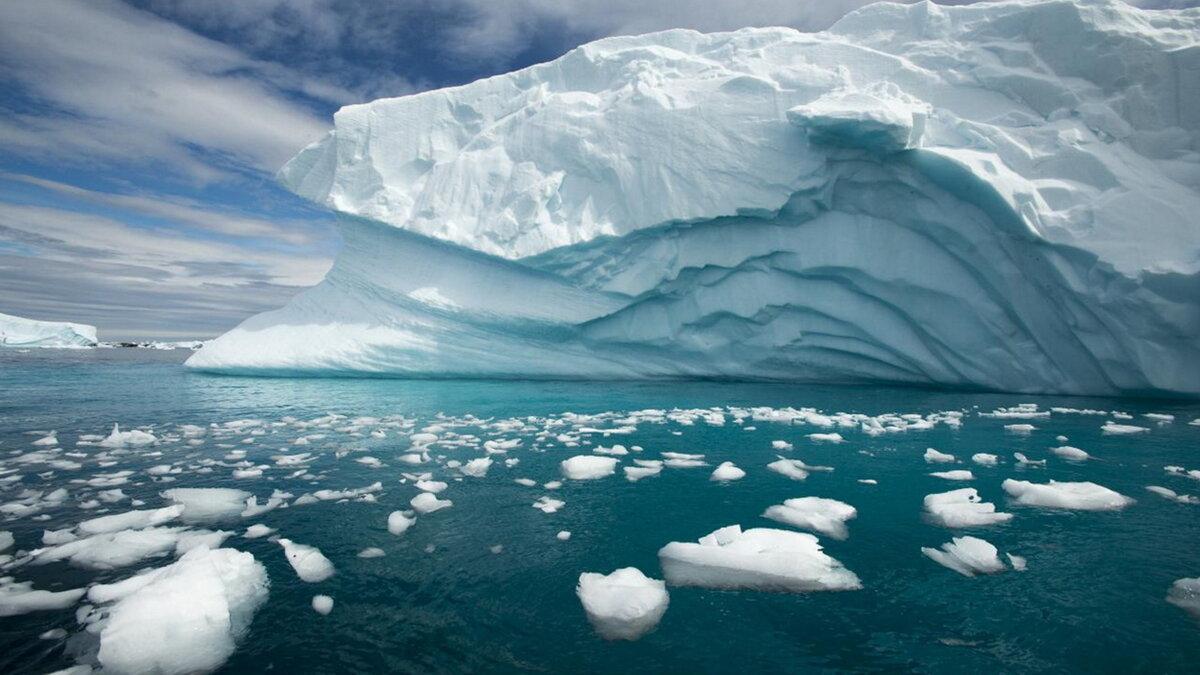 таяние ледников айсберг