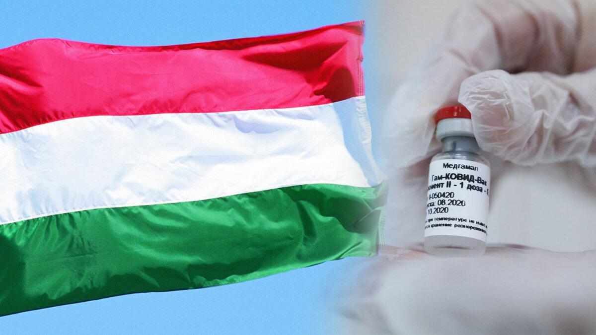 вакцина спутник коронавирус венгерский флаг