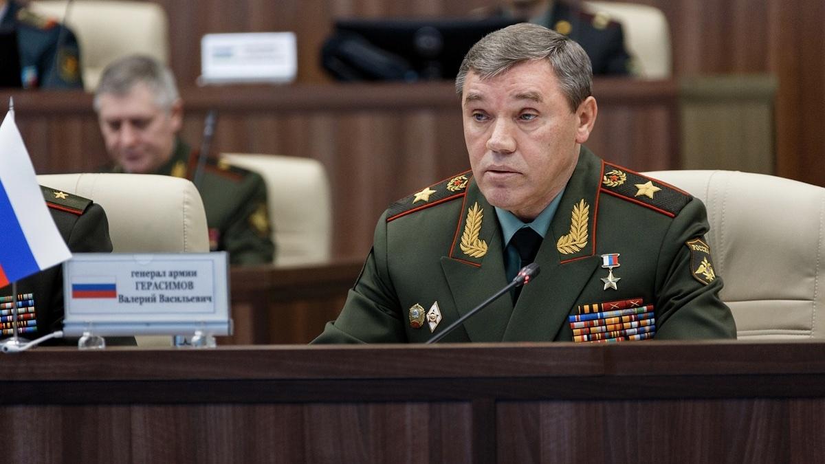 Первый заместитель министра обороны Валерий Герасимов