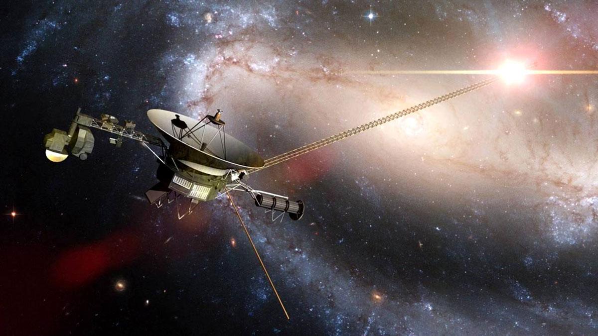 вояджер Млечный Путь космос солнце