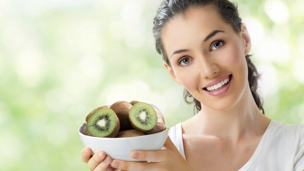 здоровье пищеварения и киви