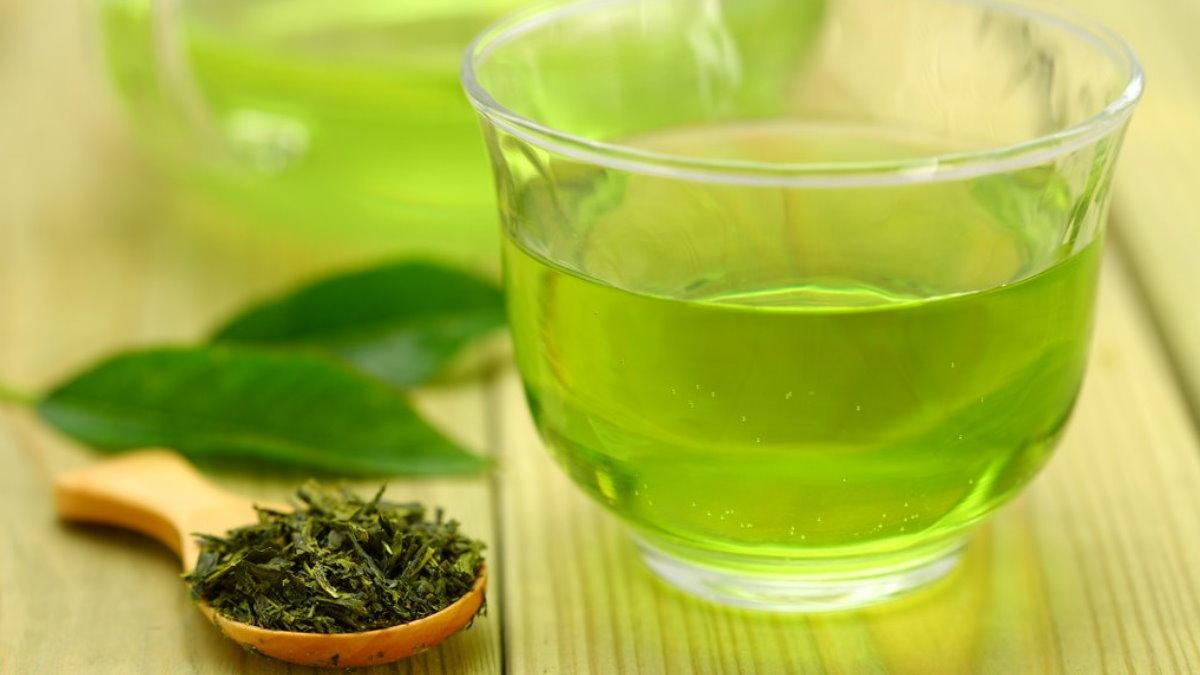 Зелёный чай два