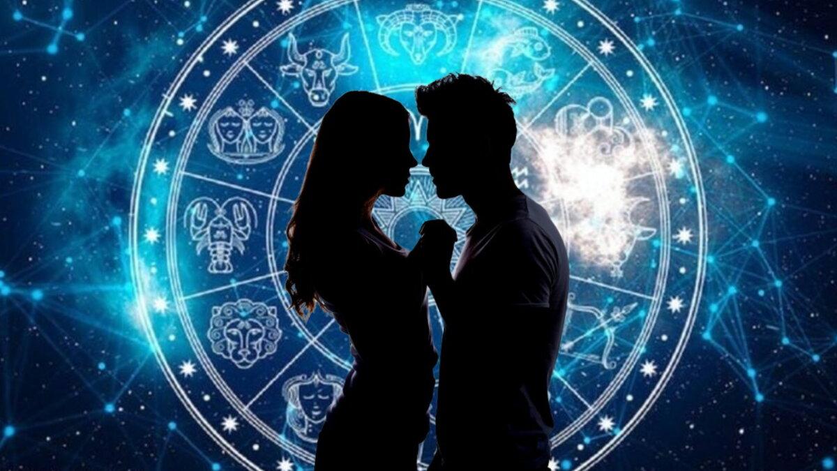 парень девушка поцелуй любовный гороскоп два