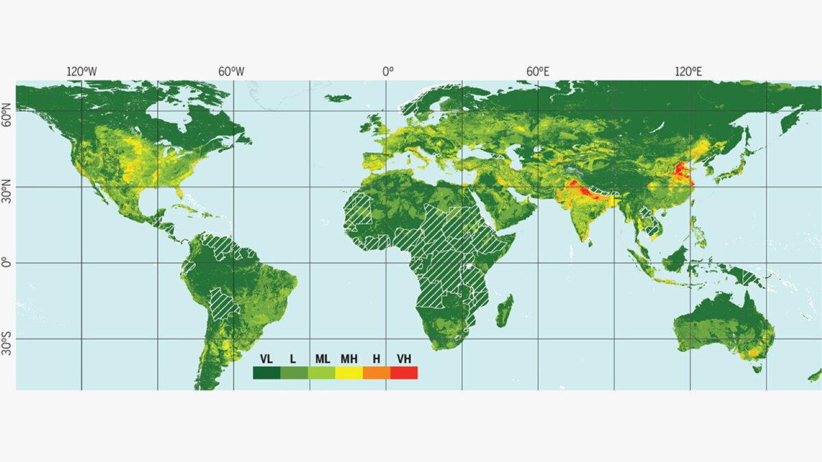К 2040 году ниже уровня моря окажется дополнительно почти 12 миллионов квадратных километров суши