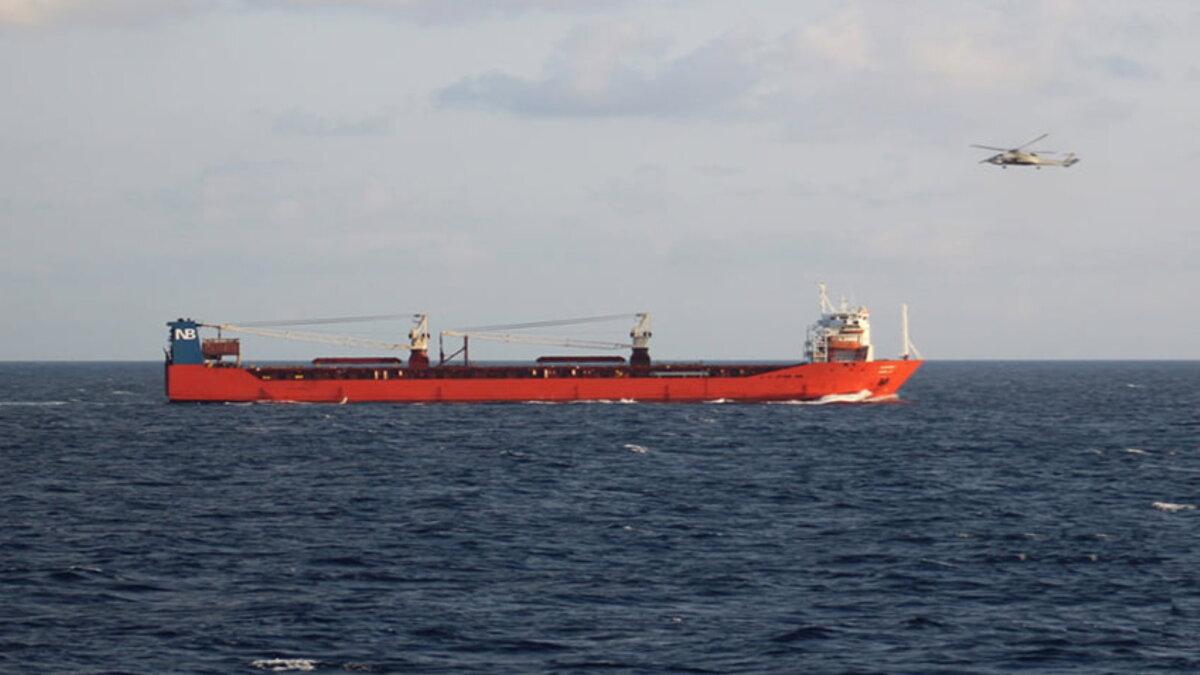 Спецназ НАТО высадился на российский торговый корабль Адлер два