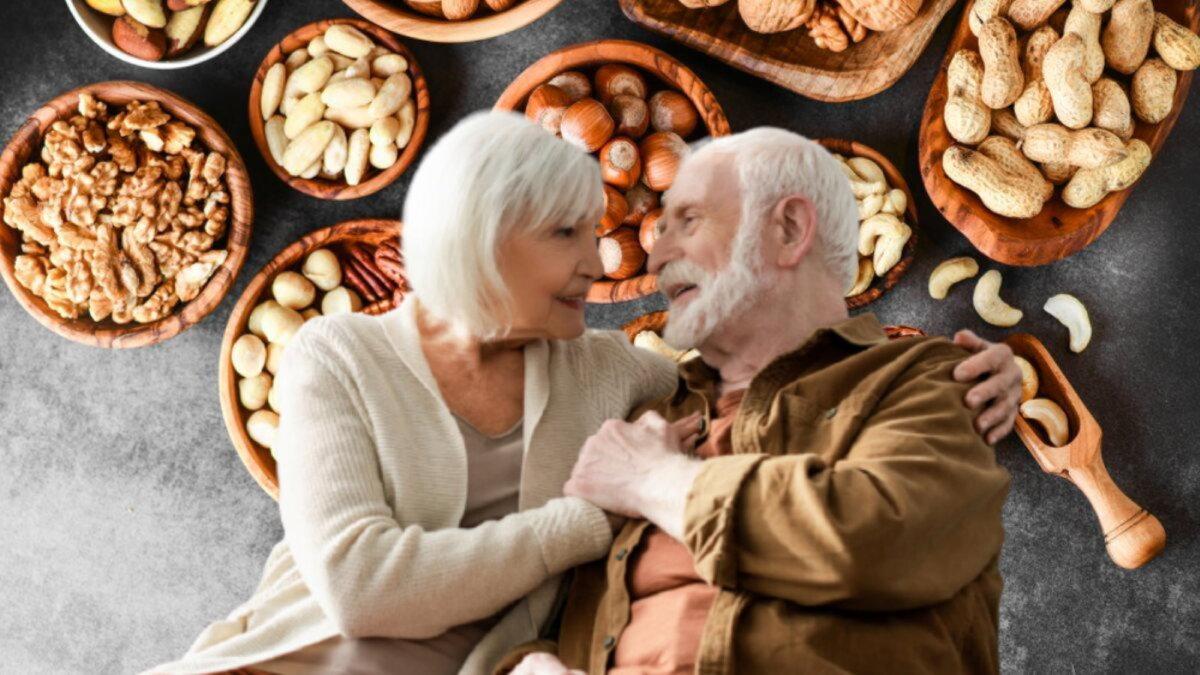 долголетие и орехи два