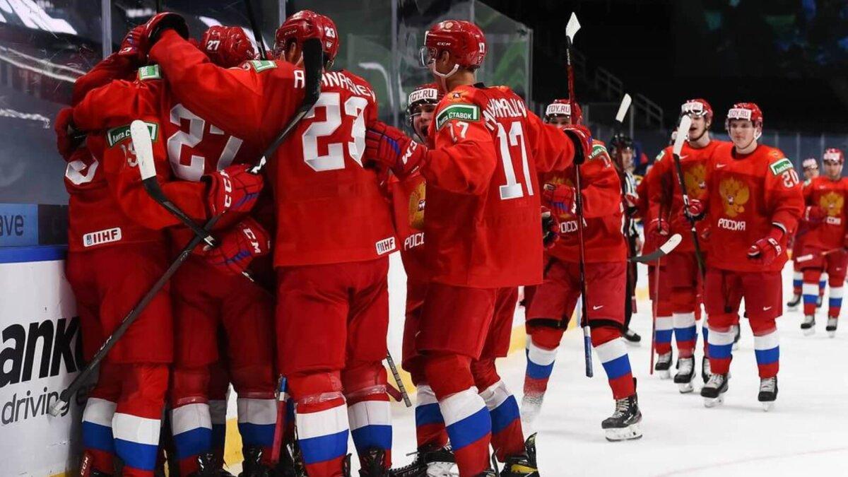Молодёжная сборная России по хоккею победа