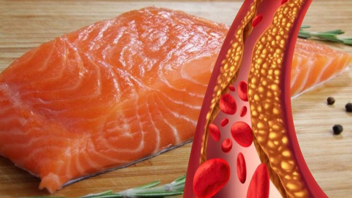 холестерин и лосось