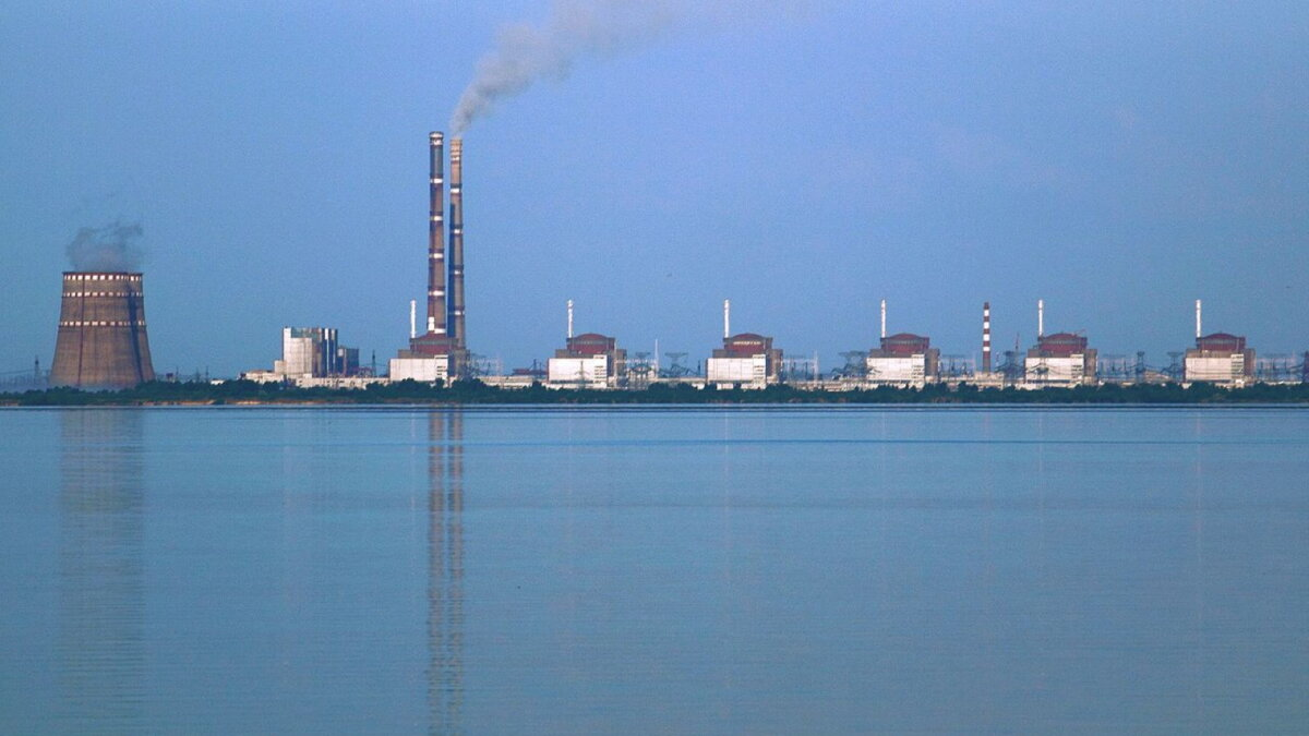 Атомная энергетика Украины Запорожская АЭС