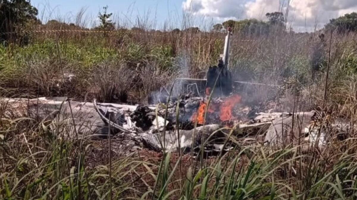 В Бразилии разбился самолёт с футболистами Пальмас