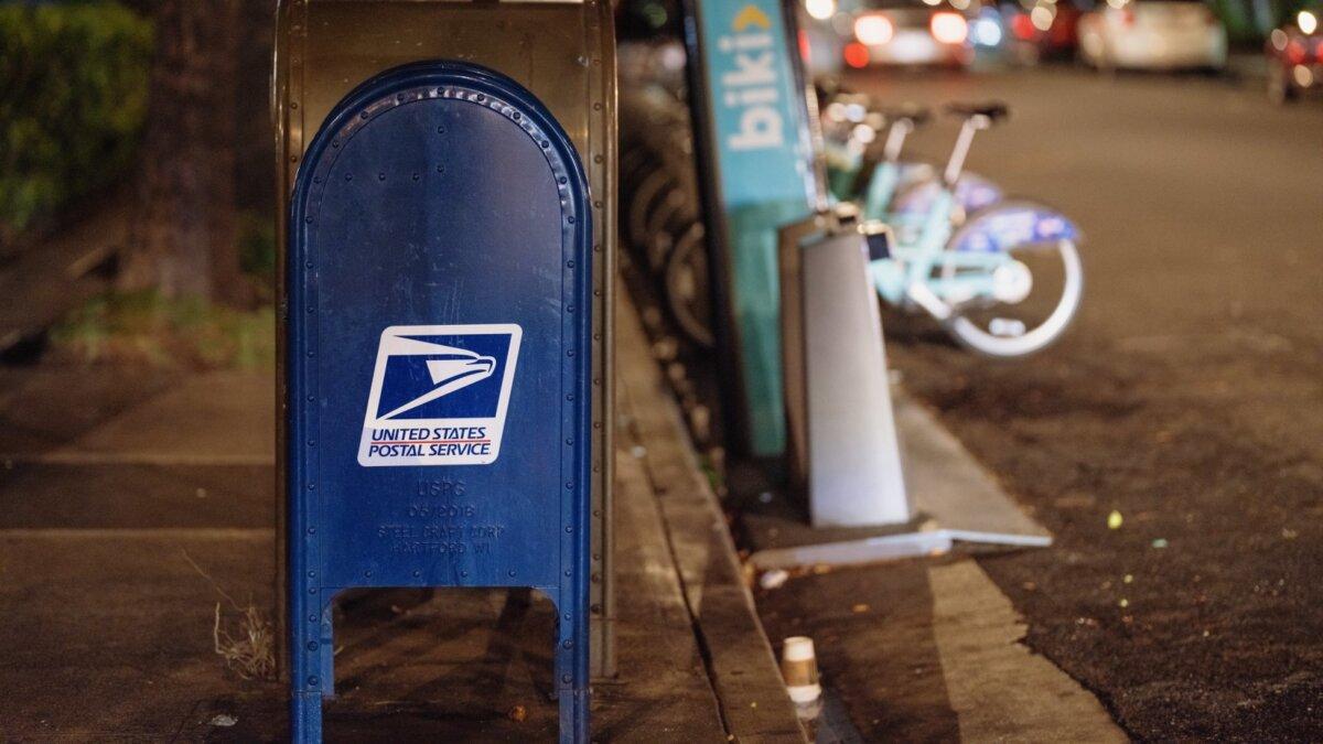 почтовый ящик США