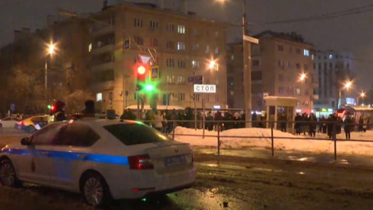 Москва протесты Навальный Матросская тишина