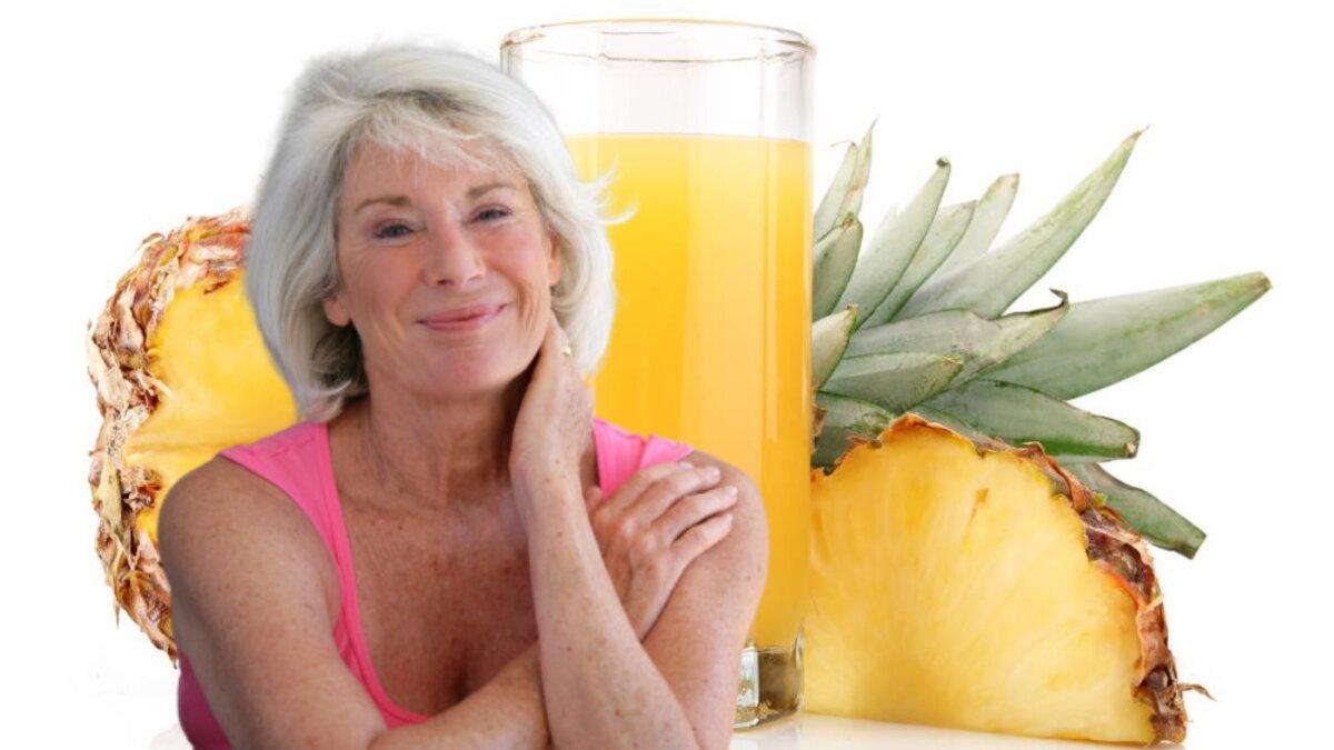 долголетие и ананасовый сок