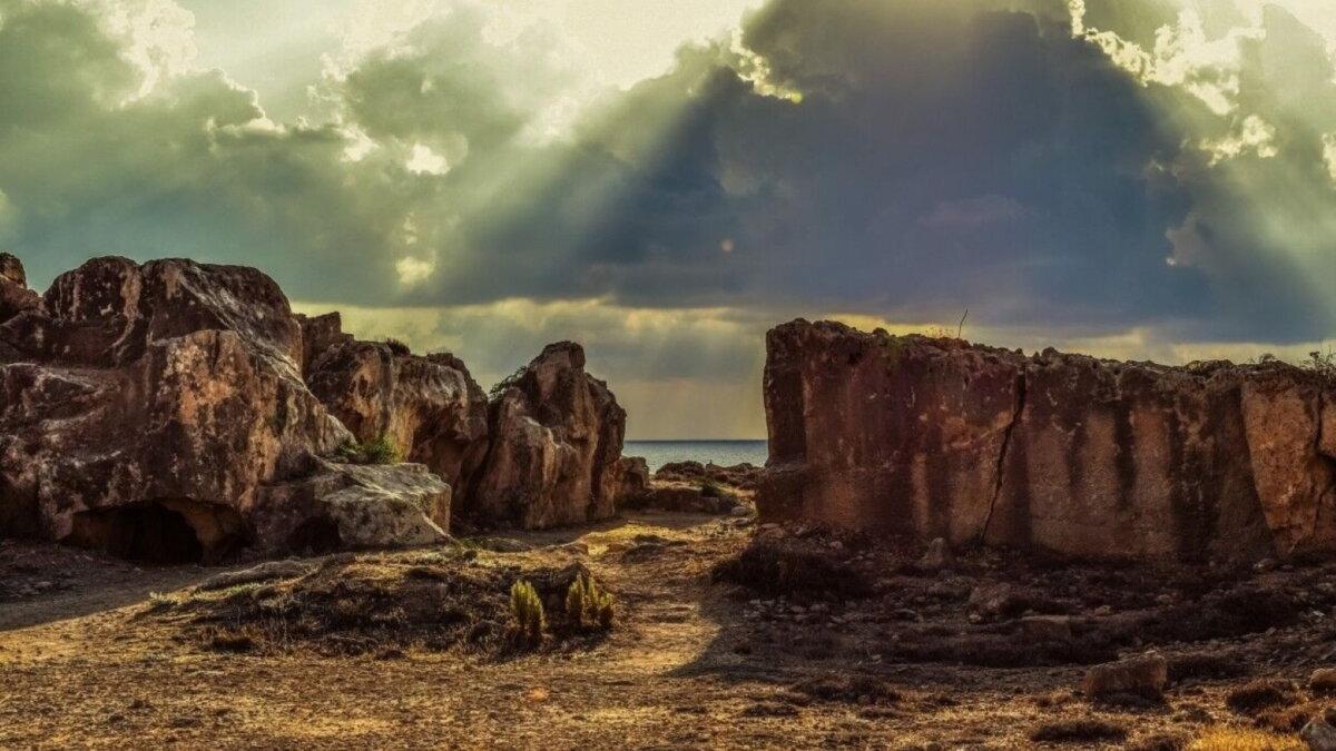 Крым археология пещеры