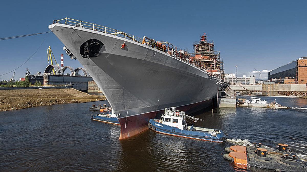 Тяжелый атомный ракетный крейсер «Адмирал Нахимов»