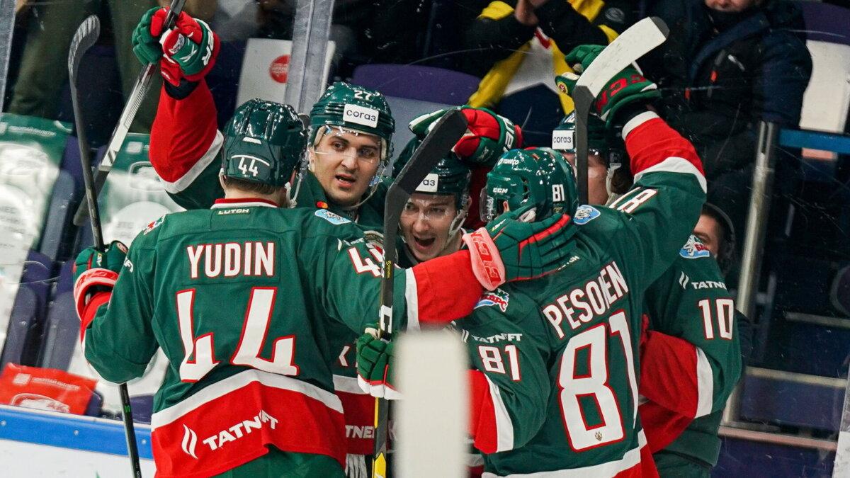 Ак Барс победа хоккей один