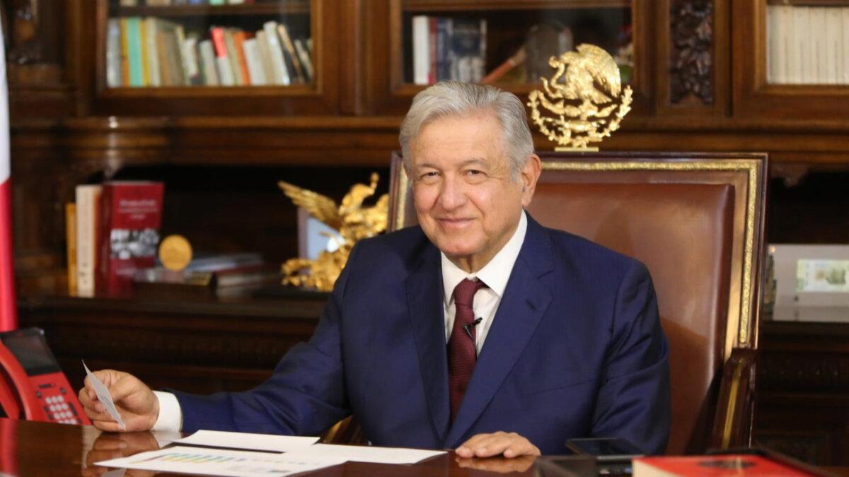 Президент Мексики Андрес Мануэль Лопес Обрадор - Andres Manuel Lopez Obrador один