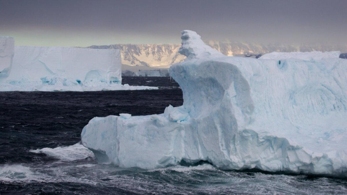 Антарктика айсберг