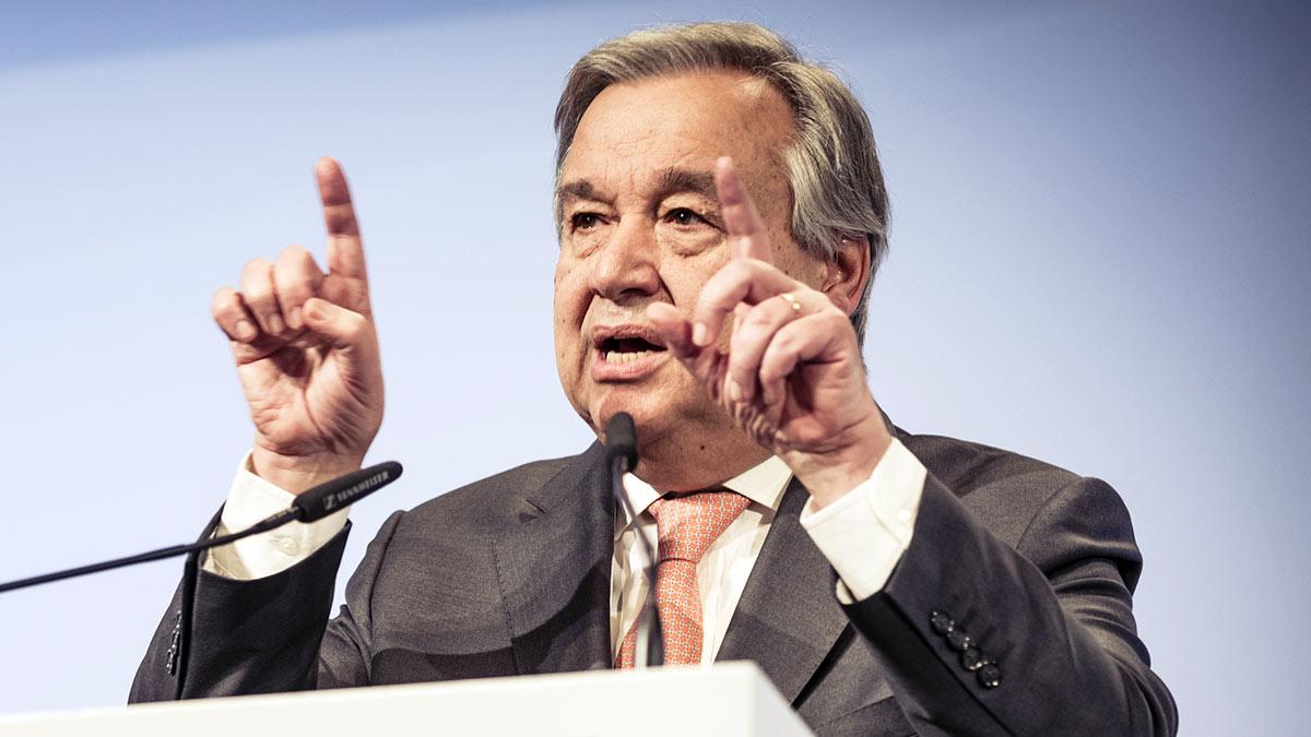 Антониу Гутерриш Португальский политик Генеральный секретарь ООН