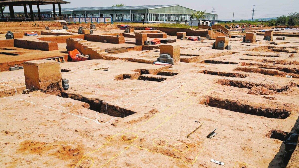 Археология Китай Шуанхуайшу