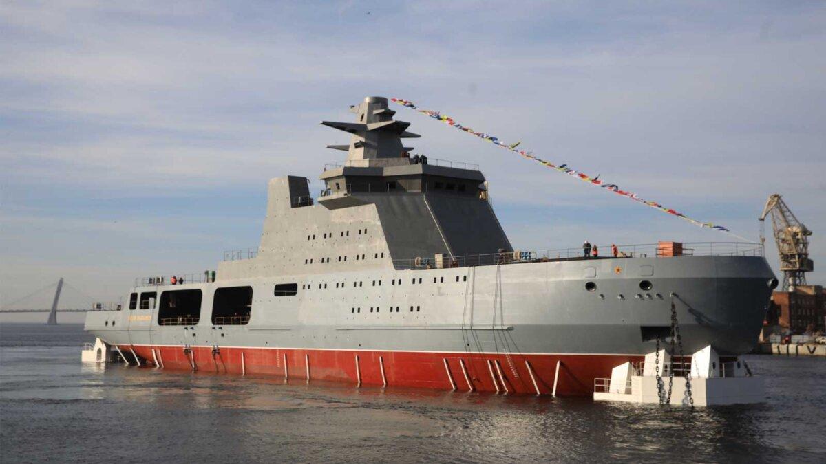 Арктический сторожевой боевой корабль проекта 23550