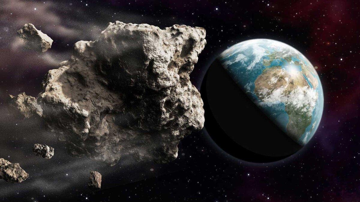 Атака астероида на Землю