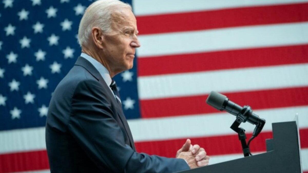 Джозеф Джо Байден - Joseph Joe Biden флаги три