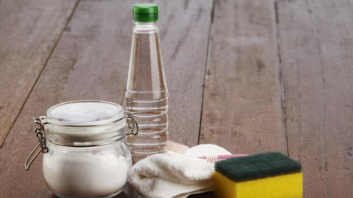 Пищевая сода уксус чистящее средство