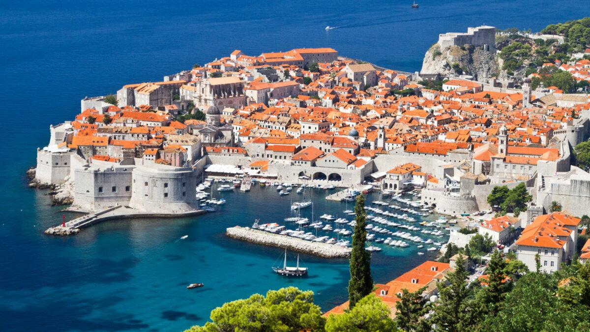 Город Дубровник Хорватия туризм