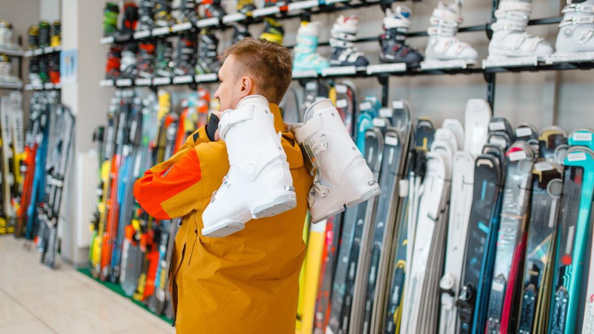 лыжи магазин