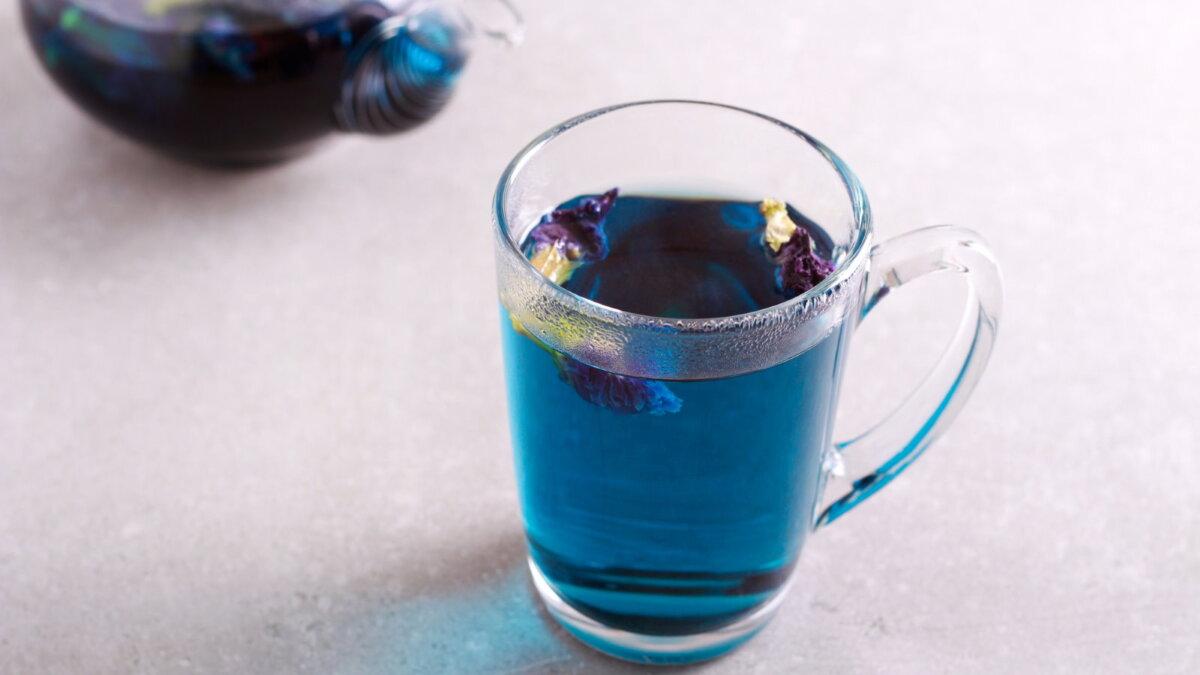 Синий или цветочный чай - мотыльковый горошек