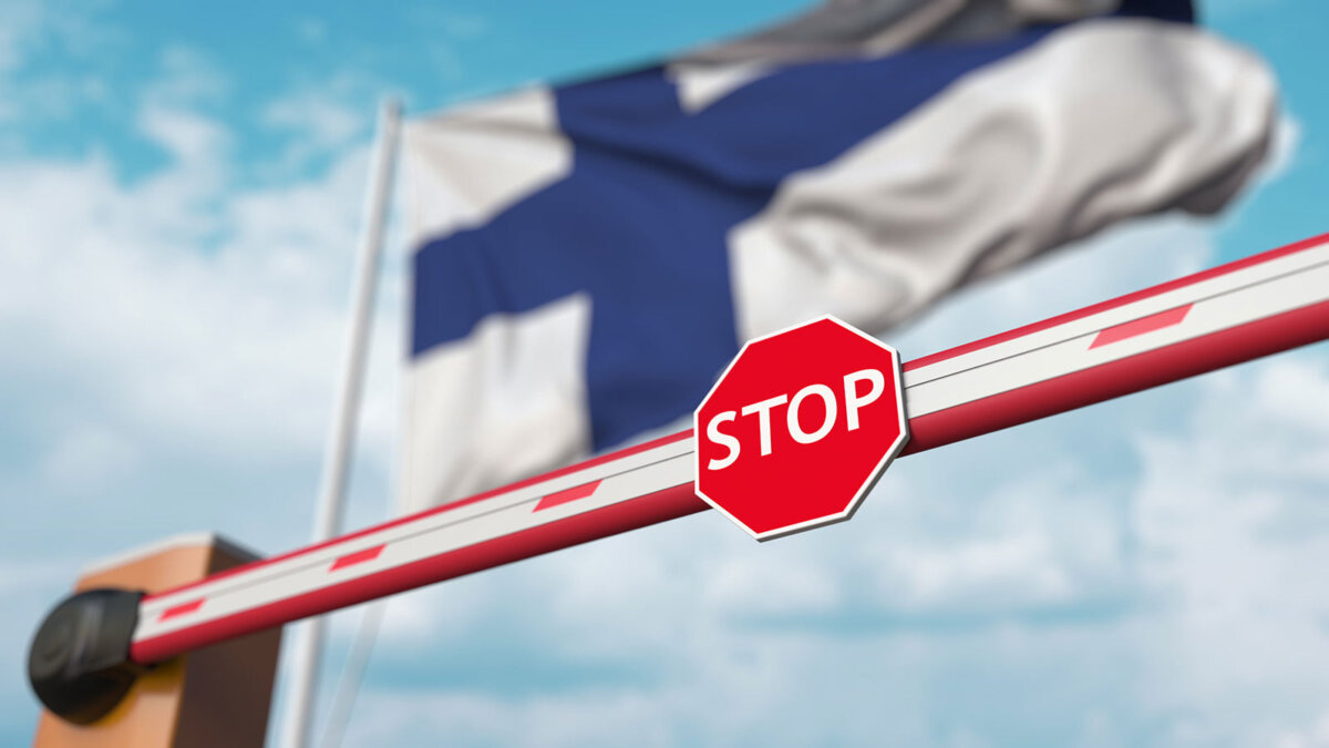 Финляндия закрытая граница