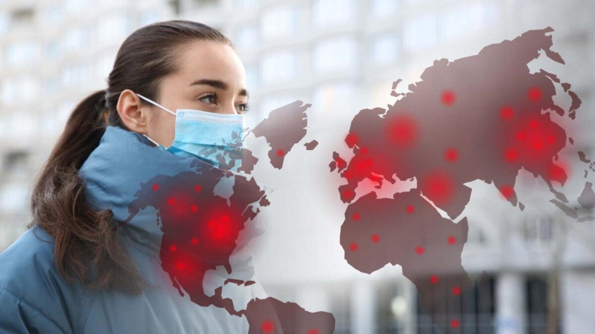 Коронавирус Мир Земля пандемия два