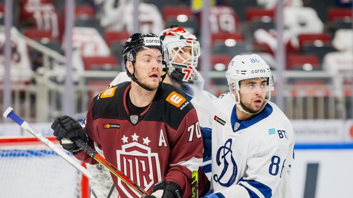 Динамо Рига - Динамо Москва хоккей