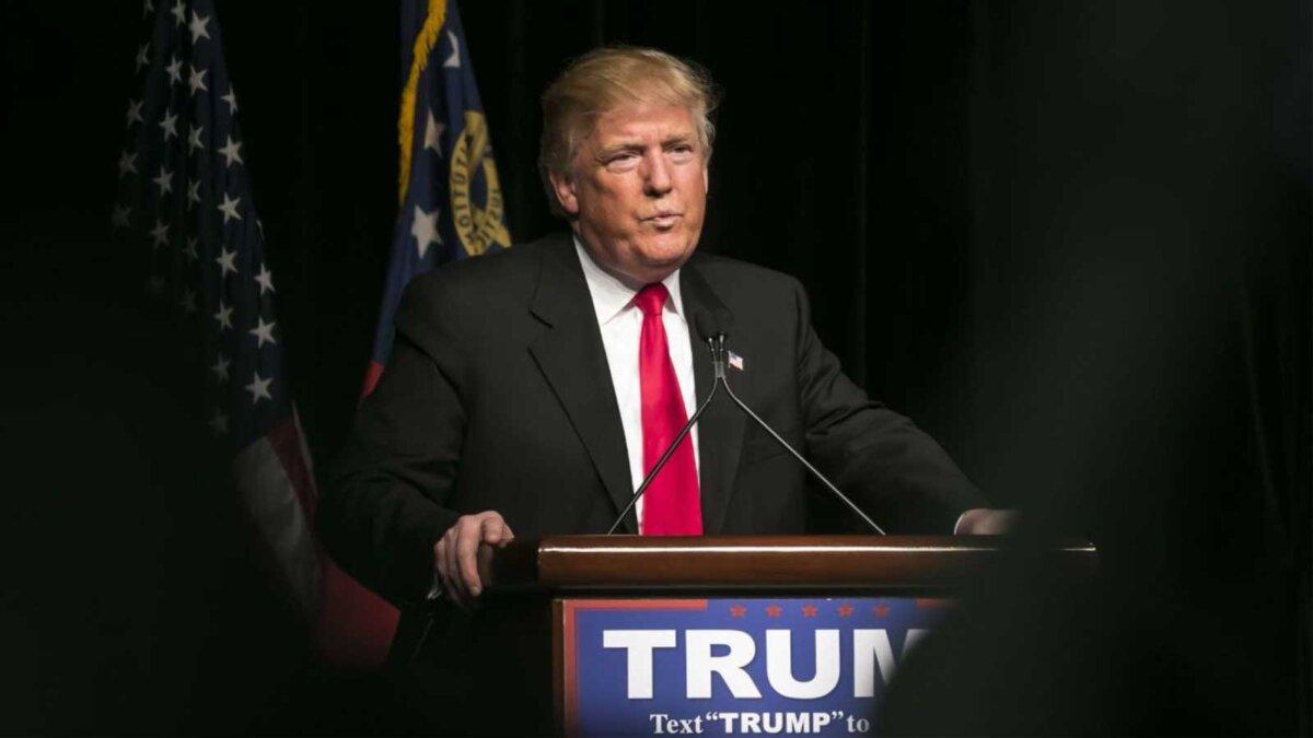 Дональд Трамп говорит Donald Trump speaks