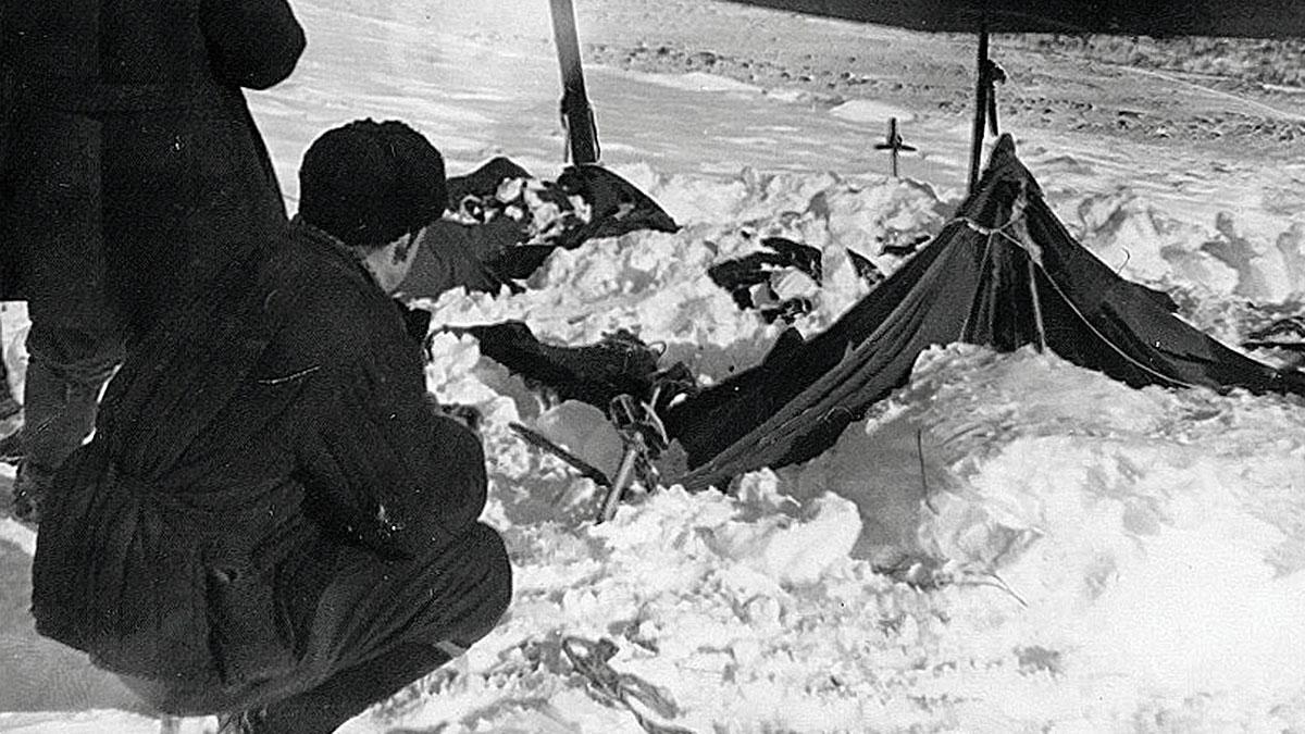 Гибель тургруппы Дятлова перевал архивное фото